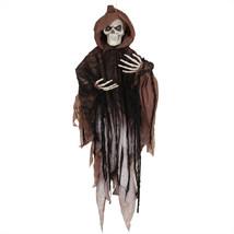 "Northlight 4"" LED Lighted Hooded Flying Skeleton Indoor Halloween Decora... - $30.80"
