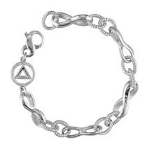 AA Infinity Link Bracelet in 14k White Gold - $1,575.00