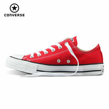 Original Converse all star canvas shoes women man unisex sneakers low cl... - $78.15