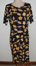 New LuLaRoe Dress Julia Spring Floral Short Sleeve 2XL - $29.91