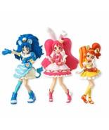 New! Kira Kira Precure a la mode Cutie Figure Doll 3 set Bandai Japan F/S - $62.63
