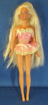 Mattel Vintage Superstar Barbie 1976 Doll Pink Dress - $29.70
