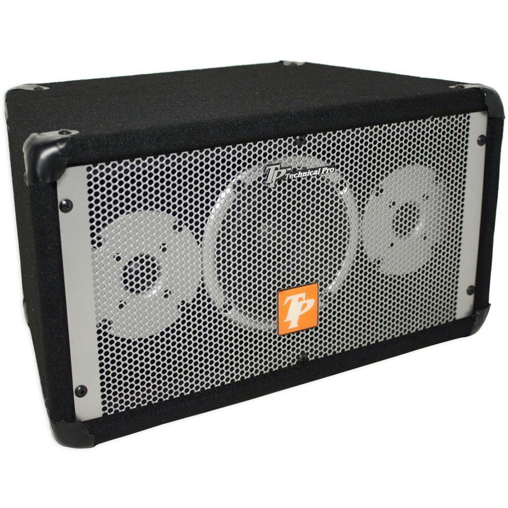 Technical Pro Set of Three Carpeted Monitor Speakers