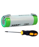 HQRP Rechargeable Battery for Braun 4501, 7527 Razor / Shaver - $13.22