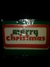Merry Christmas Vintage Unused Christmas Seals - $4.00