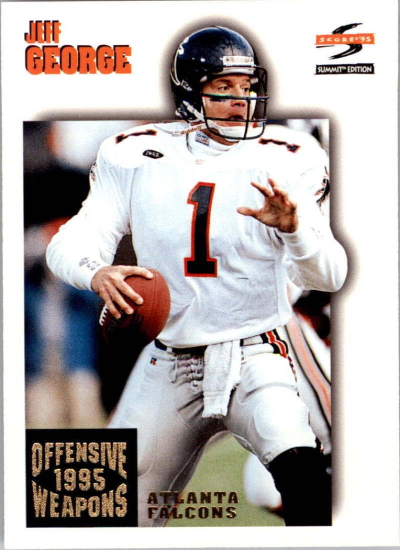 Primary image for 1995 Pinnacle Summit #183 Jeff George NM-MT Falcons OW