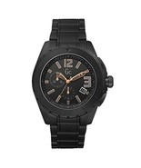 X76009G2S Guess GC Swiss Sports Class Double Extra Large Black Ceramic M... - $379.98