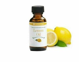 LorAnn 4 oz Super Strength Lemon Oil Flavor Extract Four Ounce Bottle Fl... - $26.56