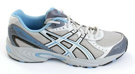 Asics Gel Cadence Gray Blue & Silver Running Shoes Women's 11 NEW - $98.99