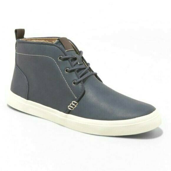 Goodfellow & Co Bleu Marine Louie Chukka Bottes Chaussures Nwt