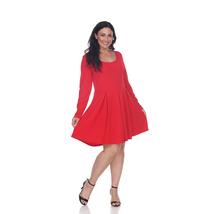 White Mark's Plus Size Jenara Dress - Red - $34.99