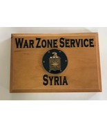CIA Central Intelligence Agency War Zone Service Syria Beveled Edge Wall... - $49.49
