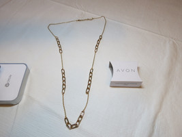 "Ladies Womens Avon Sparkling Links Long Necklace 36"" +3"" ext  F3948691 N... - $29.69"