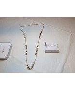 """Ladies Womens Avon Sparkling Links Long Necklace 36"""" +3"""" ext  F3948691 N... - $29.69"""