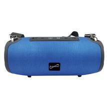 Supersonic SC-2327BT- Blue Portable Bluetooth Speaker with True Wireless... - $56.46 CAD