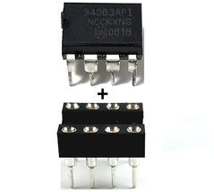 ON Semiconductor MC34063A MC34063 + Socket - Buck Boost Inverting Regula... - $8.98