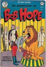 The Adventures of Bob Hope Comic Book #7 DC Comics 1951 FINE- - $106.34