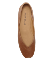 Lucky Brand Women's Alba Ballet Flat Umber Oyster Color Size 9 NUMS090 - $29.99
