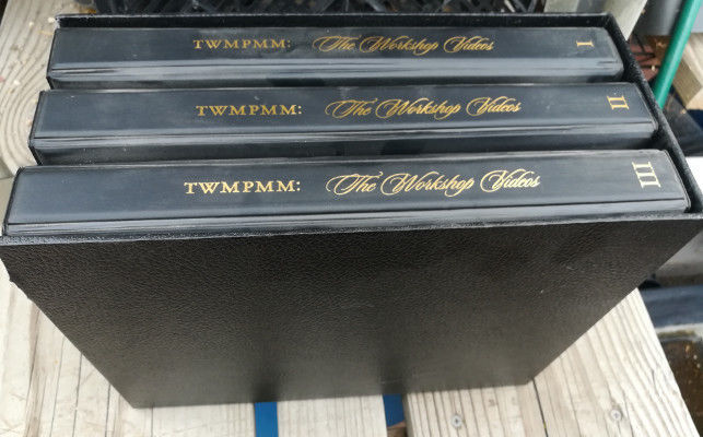 Ken Roberts' Twmpmm: the Workshop-6 VHS Video Tapes in Three Cases 1995