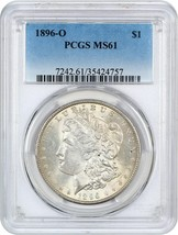 1896-O $1 PCGS MS61 - Better Date from New Orleans - Morgan Silver Dollar - $1,746.00