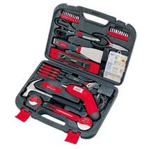 Power Hand Tool One Hundred Thirty Five Piece Household Kit Durable Carr... - $50.90