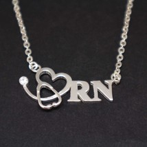Registered Nurse Stethoscope Necklace - $42.00
