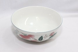 "Mikasa Continental Silk Flowers Serving Bowl 8.25""  - $22.53"