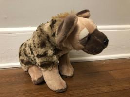 "Wild Republic Plush Stuffed Animal Soft Hyena 14"" Brown - $26.73"