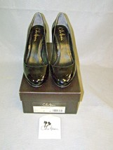 "Cole Haan Violet Air Pump 90 Black Patent Leather 3 3/4"" Heels Shoes Size 7B - $37.62"