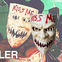 The Purge Mask Helmet Halloween Cosplay Season Resin Kiss Me - $64.35 CAD