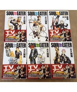 Soul Eater Manga Volumes 1-6 Set Paperback Japanese - SHIPS IN 24 HRS - $49.01