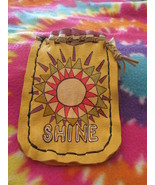 Medicine/Blessing Bag on Repurposed leather - $17.00
