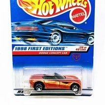 1998 Hot Wheels First Editions 35/40 Dodge Concept Car Orange 5sp New Se... - $7.06