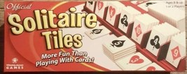 Official Solitaire Tiles Fun Game by Winning Moves #1064 Ages 8+ For 1-2... - $24.74