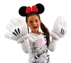 Walt Disney's Minnie Mouse Ears and Gloves Licensed Costume Accessory, NEW - $28.98