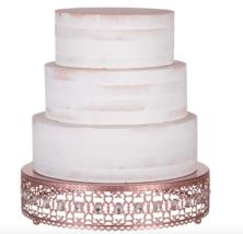 Wedding Cake stand Rose Gold Cake Stand Gold Cupcake Stand Birthday cake stand  - $149.99
