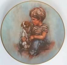 Johnny and Duke Plate Boy Dog Gorham Fine China Leo Jensen Prince Tatters Series - $9.89