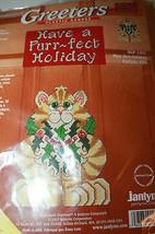Sugarplum Express Janlynn Greeters Plastic Canvas Purr-Fect Family SGP-1431 New - $27.21
