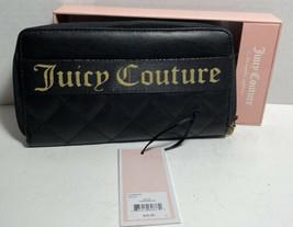 Juicy Couture Starburst Wallet Zip Around NIB Black - $24.37