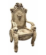 """Ebros 56"""" High Fantasy Underworld White Walker Skeleton Spine Bone Skull... - $1,286.99"""