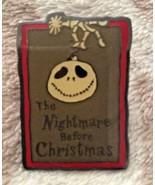 Walt Disney Studios Burbank Nightmare Jack Skellington Ornament Cast Pin... - $16.98