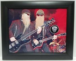 ZZ Top custom framed guitar pick display J1 - $75.95