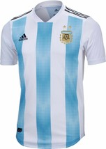 Adidas Argentina Home Soccer Jersey World Cup Russia 2018 Size M - $89.09