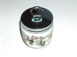 VTG Royal Worcester LAVINIA Blackberry Porcelain Single Egg Coddler w/ S... - $16.81