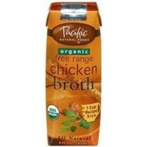 Pacific Natural Foods Organic Chicken Broth (6x4 Pack) - $53.55