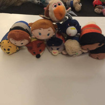 "Disney TSUM TSUM 3.5"" Mini Plush Lot 10 ct Frozen Zootopia Moana (1) - $34.64"