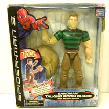 "Sandman Talking Room Guard 9"" Poseable Action Figure Marvel Spider Man S... - $35.76"