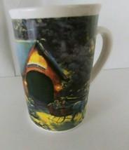 2008 THOMAS KINKADE Winter Evening Memories by Designpac Coffee Cup Mug - $4.50