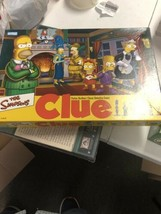 The Simpsons CLUE Board Game 2nd Edition - Parker Brothers - Box Sealed - $44.55