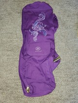 GAIAM Full-Zip Mat Bag, Cargo Pocket Yoga Bag, PURPLE - $30.00